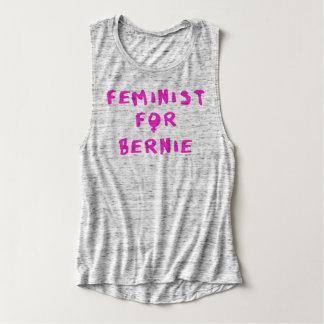 Feminist For Bernie Sanders 2016 Singlet