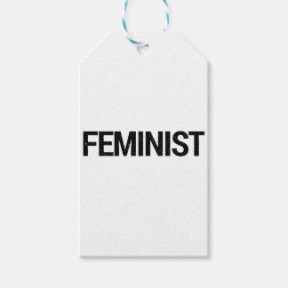 Feminist Gift Wrapping Gift Tags