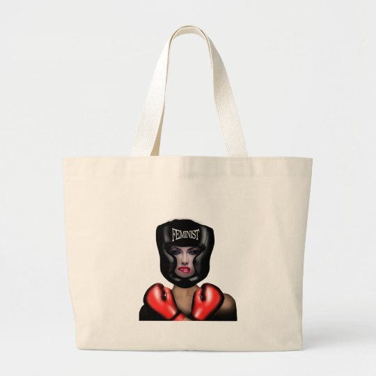 Feminist Large Tote Bag