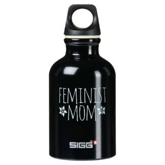 feminist mom water bottle