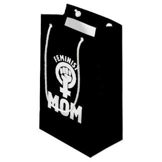 feminist mum small gift bag