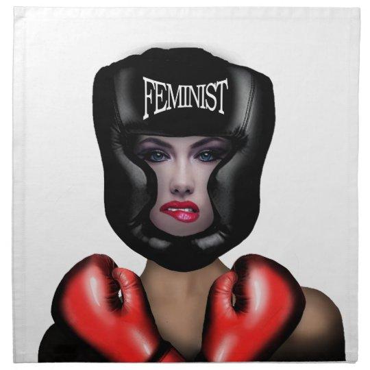 Feminist Printed Napkins