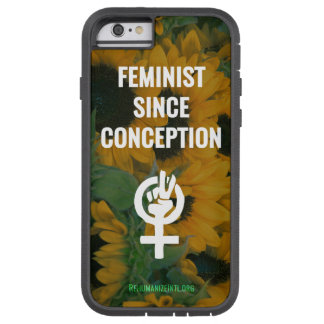 Feminist Since Conception phone case