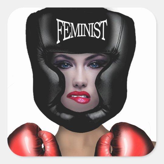 Feminist Square Sticker