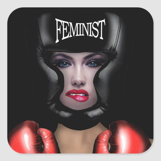 Feminist Square Sticker