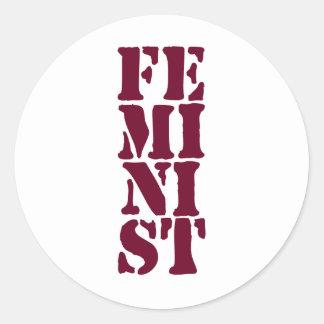 Feminist! Stickers