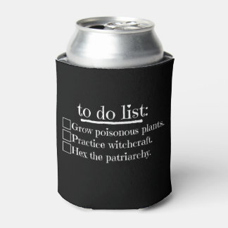Feminist Witch To Do List Can Cooler