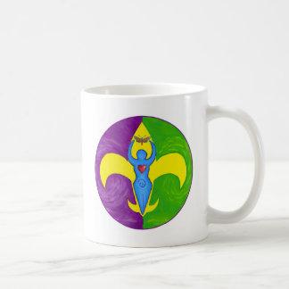 Femme de lis coffee mug