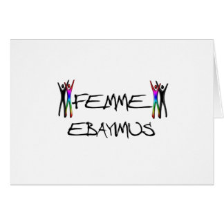 Femme Ebayimus Card