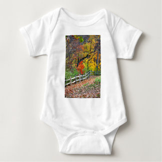 Fence in the Park Baby Bodysuit