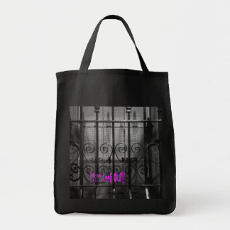 FeNce. -- KeeP OuT  tOtE!!! JPG Canvas Bag
