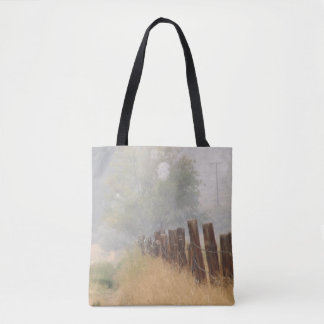 Fence Line Tote Bag