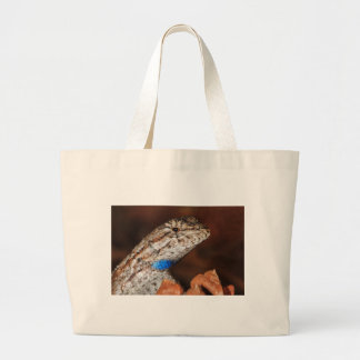 Fence Lizard Canvas Bag