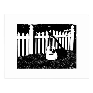 Fence of Dreams - Guitar Post Card