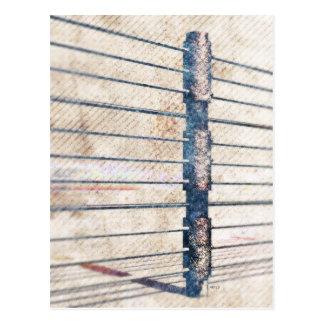 Fence Post Postcard