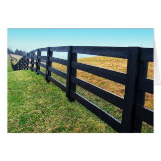 Fenced Card