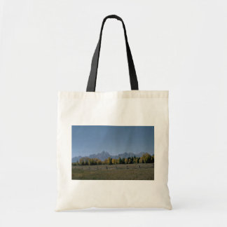 Fenced Forest Canvas Bag