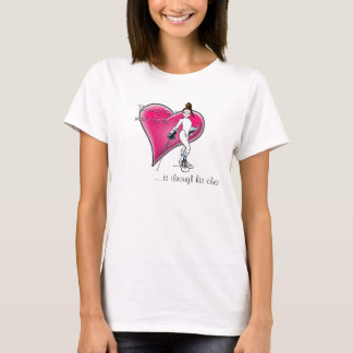 FencerGrrl - The way to a man's heart... T-Shirt