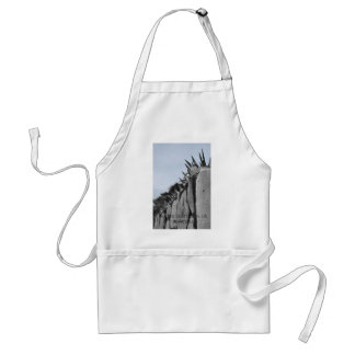 Fences dont give us freedom apron