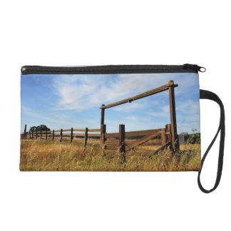 Fences in Field Wristlet Purse