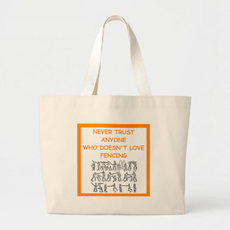 FENCING TOTE BAGS
