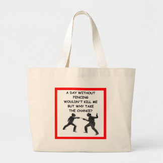 FENCING TOTE BAG