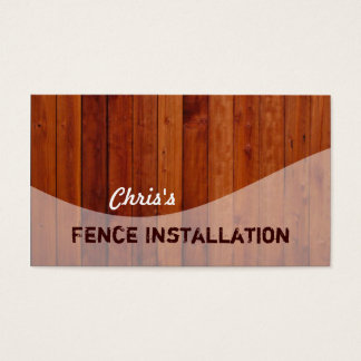 Fencing Business Cards