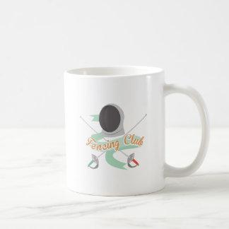 Fencing Club Basic White Mug