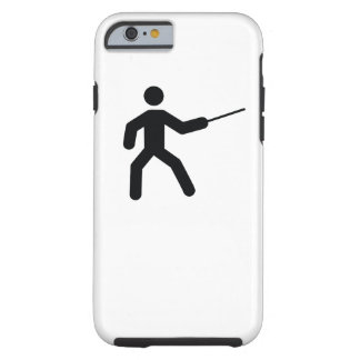 FENCING | cool sport icon Tough iPhone 6 Case