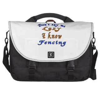 Fencing Designs Bags For Laptop