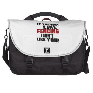 FENCING Don't Like Laptop Bag