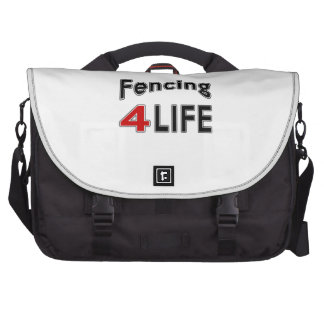 Fencing For Life Laptop Computer Bag