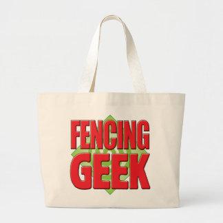 Fencing Geek v2 Tote Bags