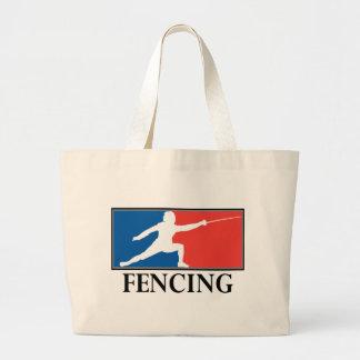 Fencing Jumbo Tote Bag