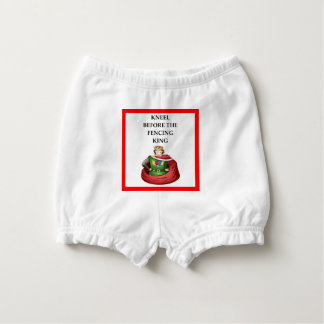 FENCING NAPPY COVER