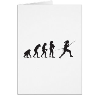 Fencing Note Card