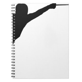 Fencing Spiral Notebook
