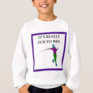 fencing sweatshirt