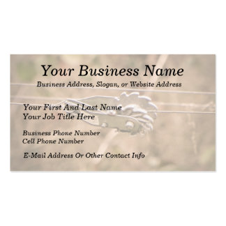 Fencing the Back Forty Business Cards