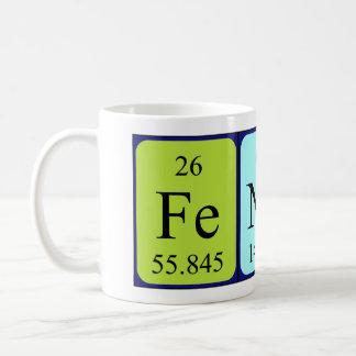 Fender periodic table name mug