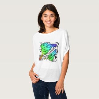 Fenêtre sur l'appréciation qui procure du bonheur T-Shirt