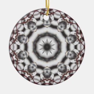 Feng Shui Crystal Kaleidoscope Christmas Ornament