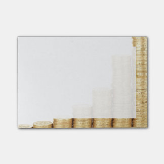 Feng Shui Increasing Wealth Good Luck Gold Coins Post-it® Notes
