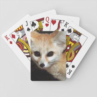 Fennec Fox Playing Cards