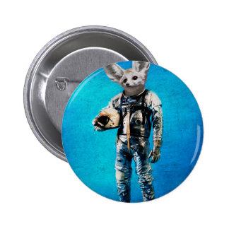 Fennec the captain 6 cm round badge