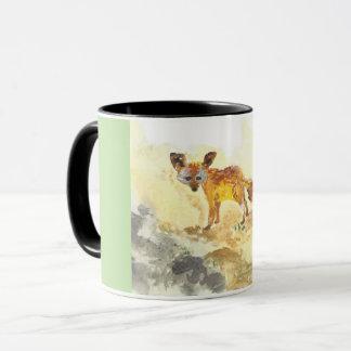 Fennec Watercolor Illustration Mug