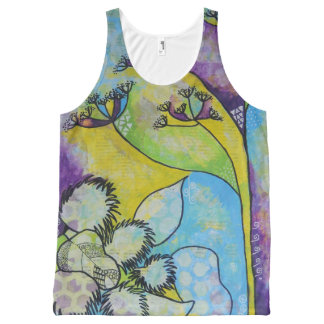 Fennel and Burdock Tank Top All-Over Print Tank Top