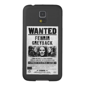 Fenrir Greyback Wanted Poster Cases For Galaxy S5
