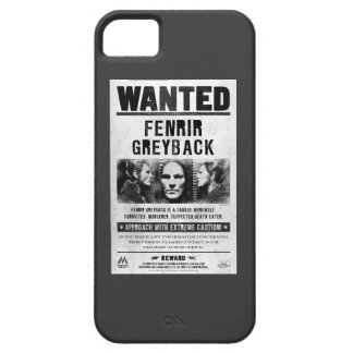 Fenrir Greyback Wanted Poster iPhone 5 Cover