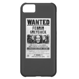Fenrir Greyback Wanted Poster iPhone 5C Case